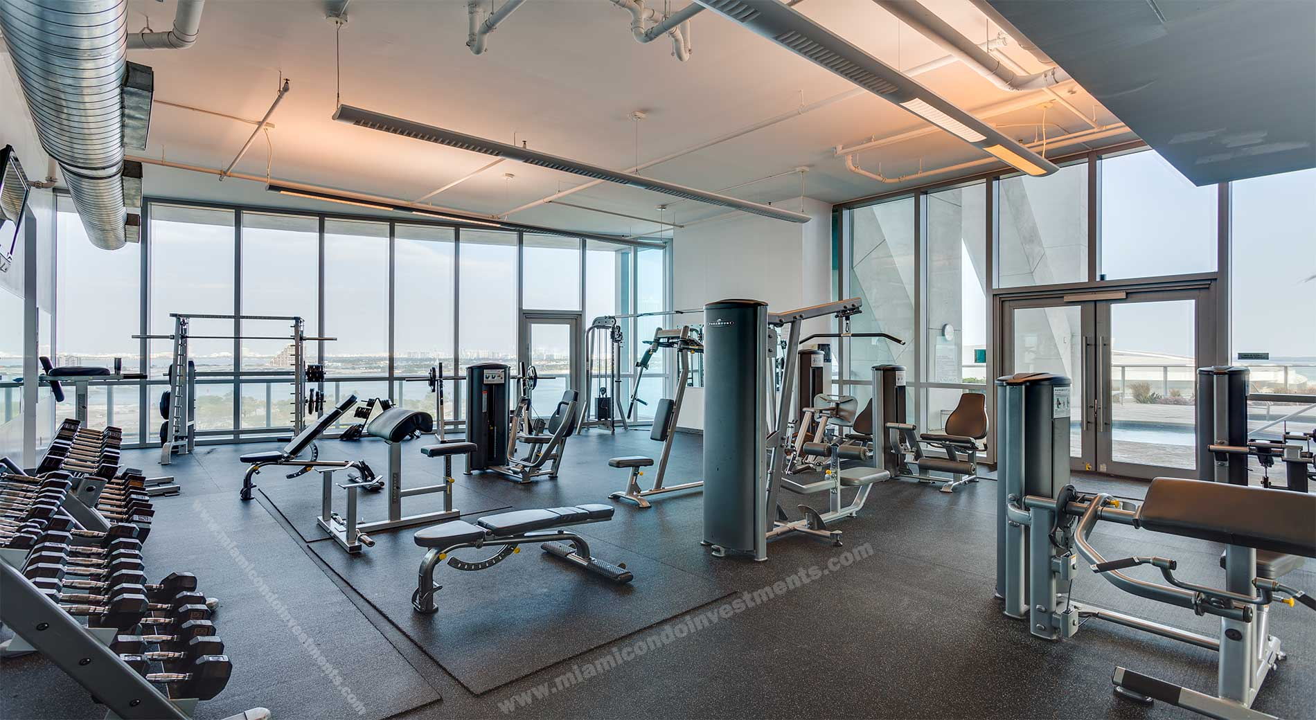 Fitness center furniture designs